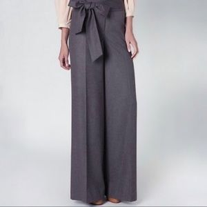 Anthro Elevenses Wide Leg Trouser